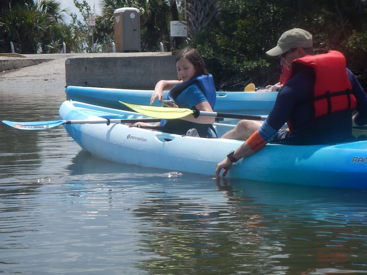 Show item 5 of 8. Manatee and Dolphin kayak tour \ Haulover canal (Titusville)