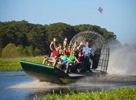 Everglades Airboat & Gator Show with AM or PM pick
