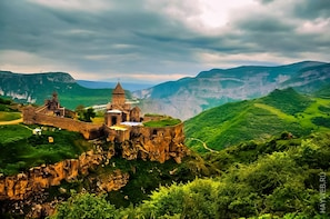Areni wine factory-Tatev-Shaki waterfall:Private Tour