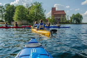 From Vilnius: Trakai Private Full Day Kayaking Experience