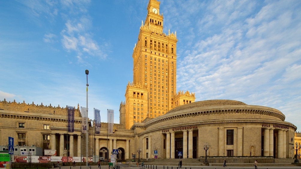 Show item 8 of 8. Palace of Culture&Science + Wilanow Palace: YOUR GROUP ONLY