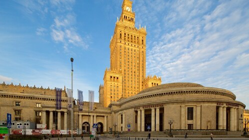 Palace of Culture&Science + Wilanow Palace: YOUR GROUP ONLY