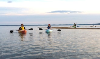 Guided Sunset Tour on Sebago Lake, Maine