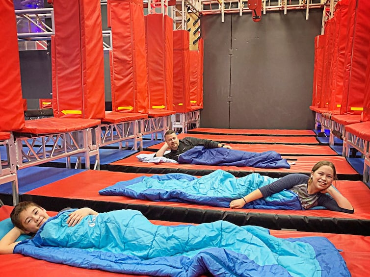 American Ninja Warrior Overnight Experience