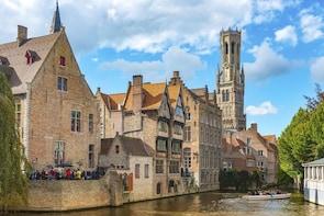 Ghent & Bruges departure from Brussels