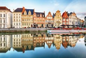 Ghent & Bruges departure from Bruges & Ostend