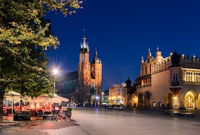 Krakow Old Town and Jewish District one day private tour