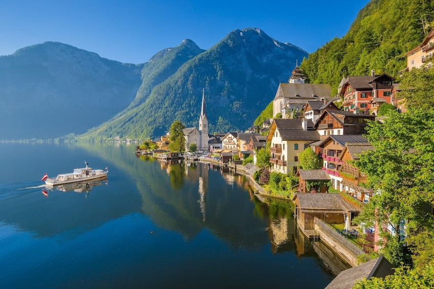 Show item 1 of 6. Small-Group Day Trip from Vienna to Hallstatt