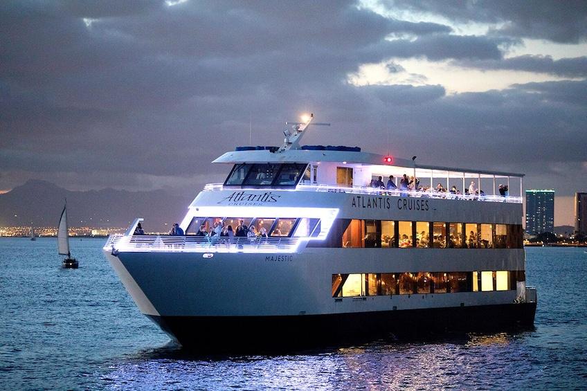 Show item 7 of 10. Majestic by Atlantis Cruises - Sunset Cocktail Cruise