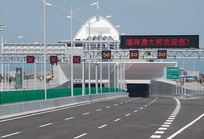Hong Kong Zhuhai Macau Bridge Shuttle Bus Ticket