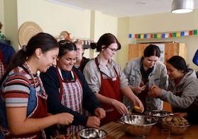 Seven Women Cooking Class