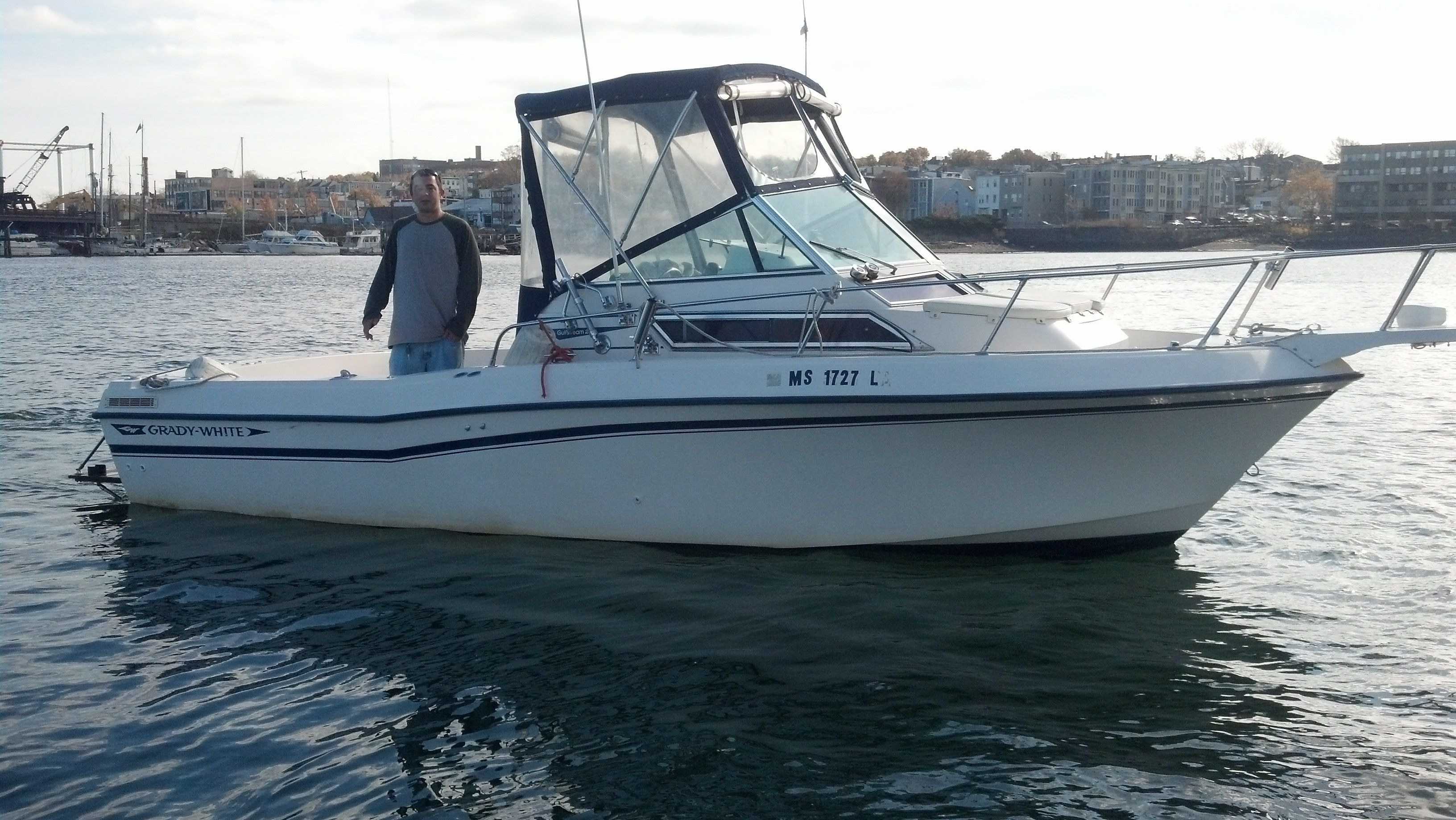 Boat Rental on Boston Harbor