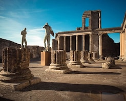 Full Day Pompeii & Vesuvius tour from Amalfi Coast