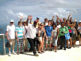 Full Day St. Thomas Sightseeing Tour With Shopping & Beach