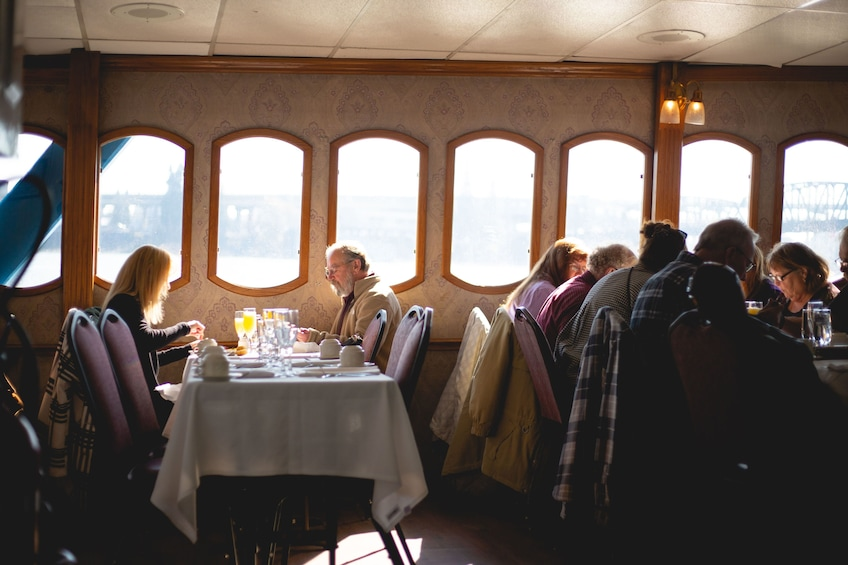 Show item 9 of 9. 2-Hour Columbia River Gorge Sunday Champagne Brunch Cruise
