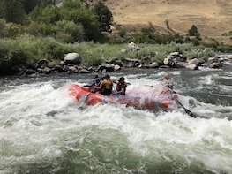 Payette River 1/2 Day Whitewater Rafting and Kayaking Trip