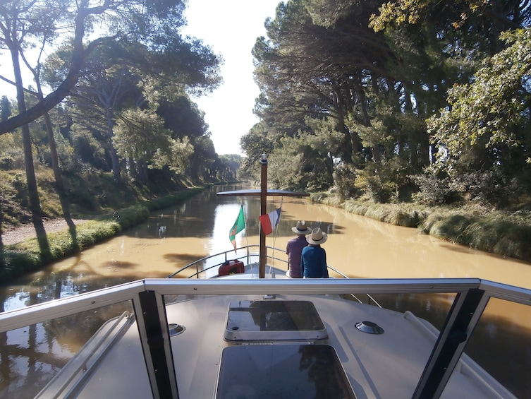 Show item 3 of 9. Private, scenic cruises on the Canal du Midi