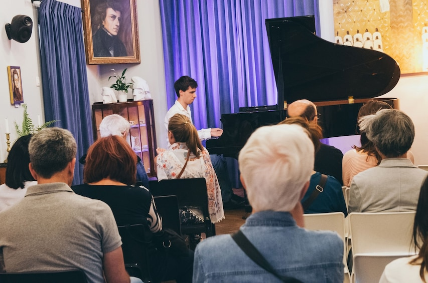 Show item 3 of 6. Chopin concert in Warsaw Old Town, in historical site