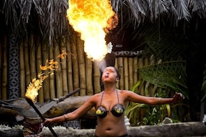 Sunset Dinner Island Cruise with Fire Dance & Cultural Show