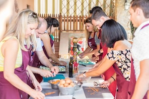 Cooking class, dinner and Italian Opera