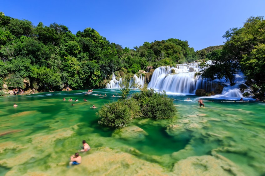 Show item 5 of 8. Krka National Park and Waterfalls All Day Tour