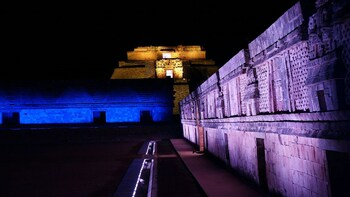 UXMAL LIGHT AND SOUND SHOW