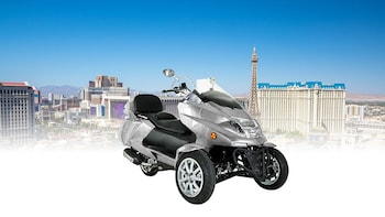 Experience Las Vegas on a 300cc Reverse Trike All Day Rental