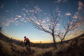Outback Cycling Mountain Bike tour SUNSET