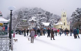 Shimla City Tour from Chandigarh (Pickup from Hotel)