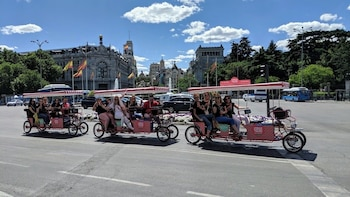 Beer Bike (1h- UNLIMITED Beer for up to 4 people) - Madrid