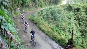 Death Road - Double Suspension Bike & Zip Line Free!