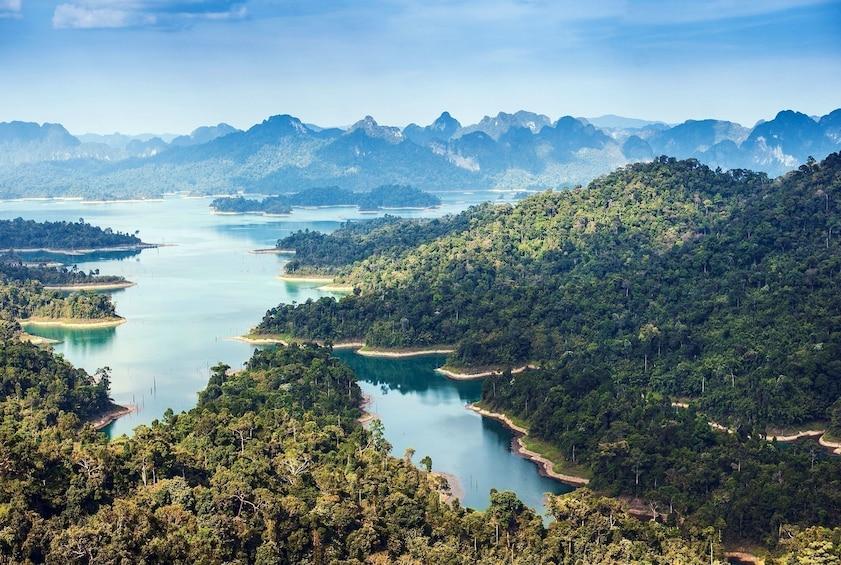 Show item 1 of 8. One Day Tour Khao Sok Jungle Safari from Krabi