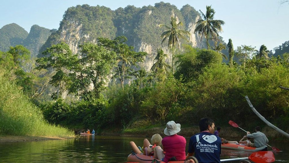 Show item 4 of 8. One Day Tour Khao Sok Jungle Safari from Krabi