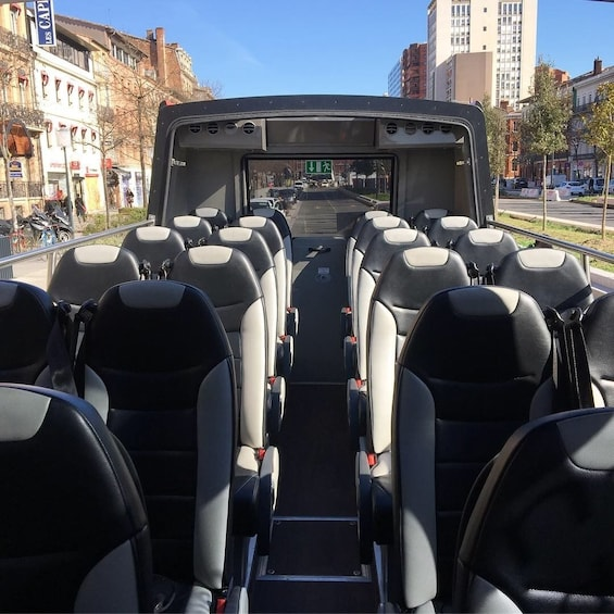 Show item 2 of 3. Toulouse: 70-minute city tour by open-top minibus