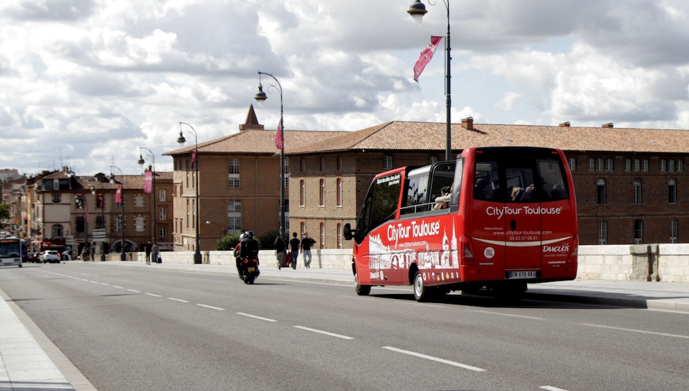 Show item 3 of 3. Toulouse: 70-minute city tour by open-top minibus