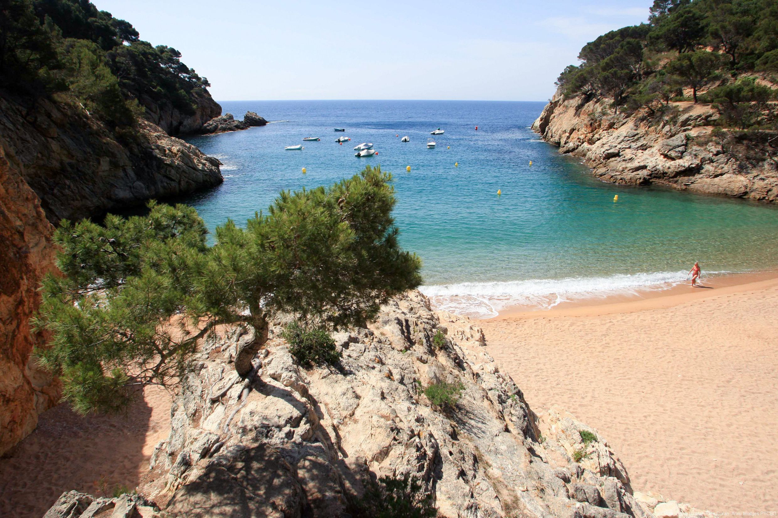 Private Costa Brava and Tossa Tour with Panoramic Boat Ride