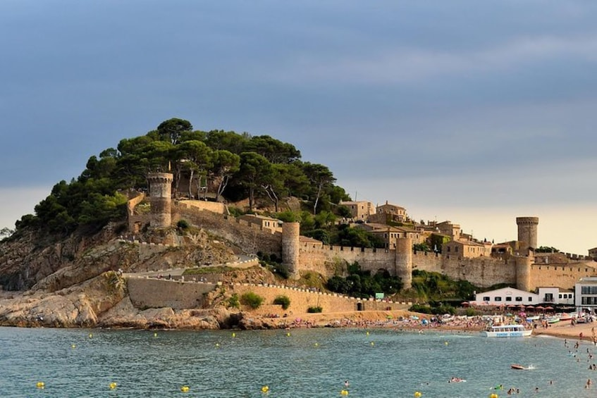 Show item 2 of 7. Private Costa Brava and Tossa Tour with Panoramic Boat Ride
