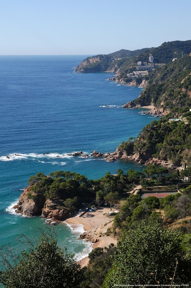 Show item 3 of 7. Private Costa Brava and Tossa Tour with Panoramic Boat Ride