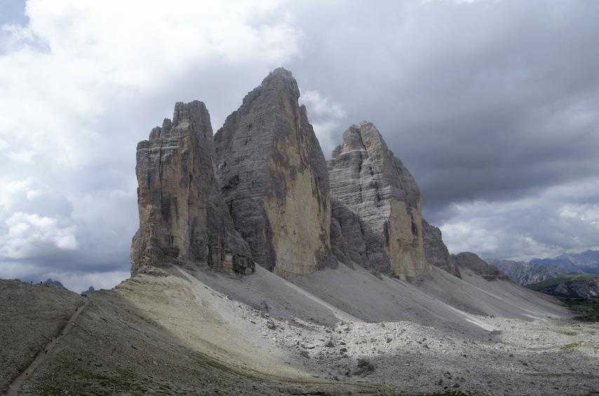 Tre Cime di Lavaredo Peak in Italy