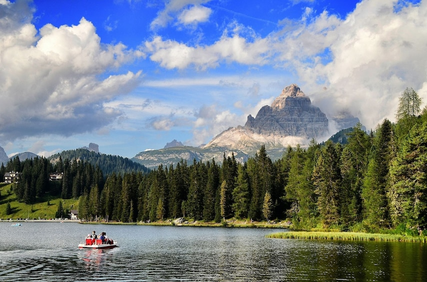 Show item 3 of 7. Lake Misurina in Italy