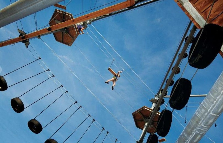 Ticket to the Skytown Adventure Rope Park