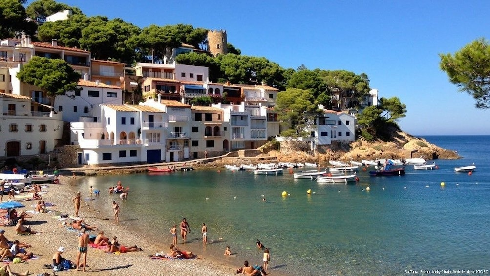 Show item 2 of 5. Private Costa Brava & Empuries Tour with Panoramic Boatride