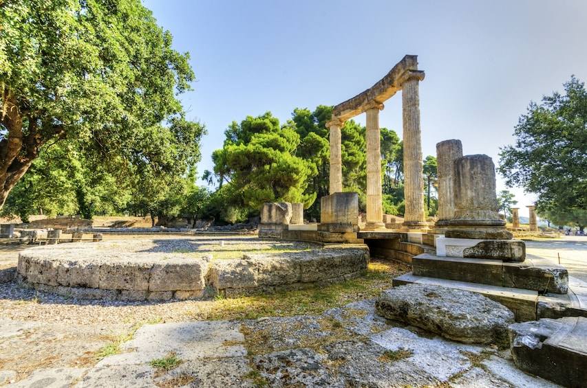 Show item 1 of 3. Ancient site of Olympia, Greece