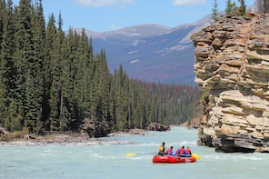 Canyon Run Family Whitewater Rafting in Jasper