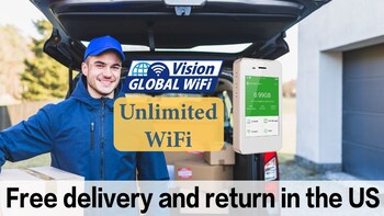 WiFi rental in The UK - Free delivery in the US