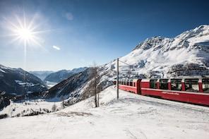 Bernina Express - Panoramic Carriage: Tour by bus from Milan