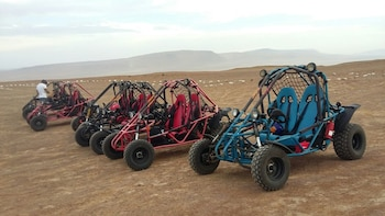 Self drive mini buggy at Paracas Reserve