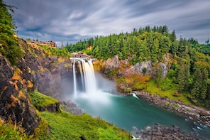 Private Seattle Tour, Snoqualmie Falls & Wine Tasting