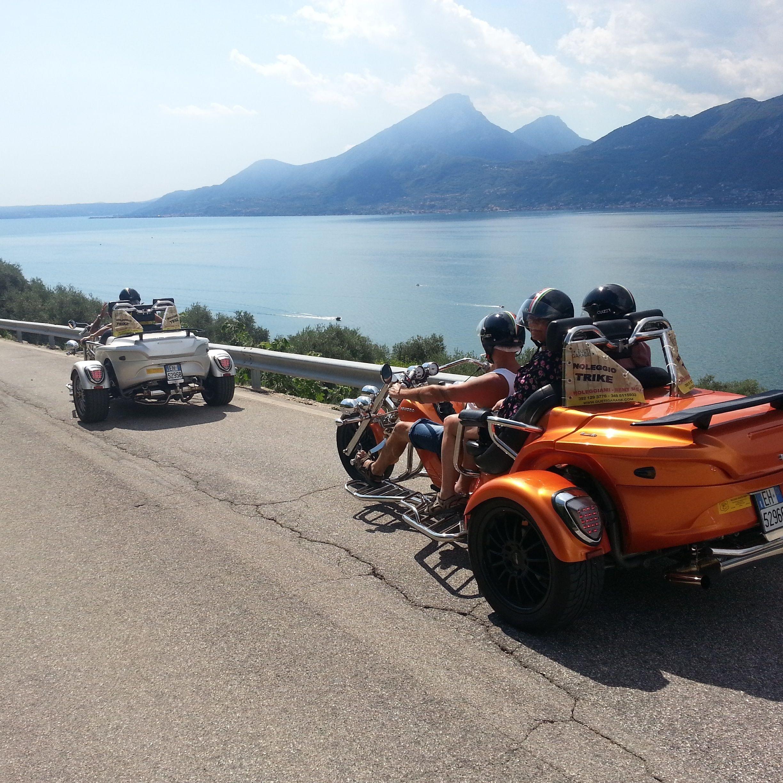 Lake Garda: Guided Trike Tour (1 driver + 1 passenger free)