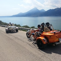 Lake Garda: Guided Trike Tour (1 driver + 1 passenger free)